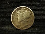 United States, Silver (.900), Mercury Dime 1939, VF, MR366